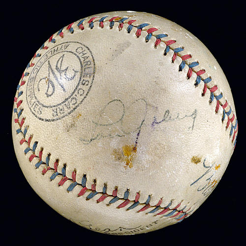 This Lou Gehrig ball may be real, but there are a lot of phony ones out there. One of the top ways scammers make money is by selling knock-off sports memorabilia.