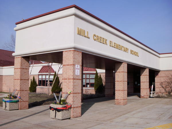 Mill Creek Elementary School in Geneva, Ill.