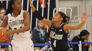 — There is quick. And then there is the quickness UConn freshman Moriah Jefferson displayed Wednesday at Georgetown.