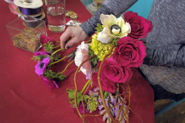 Classes at CCBC cover topics like floral design, cake decorating and dancing.