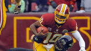 3. Robert Griffin III, quarterback, Washington Redskins