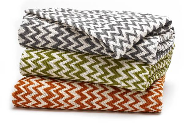 We know you set your home's thermostat to the perfect temperature, but everyone's body heats and cools differently. Drape the organic cotton Zigzag Matelasse Throw across the foot of your guest bed to add some design flair and give your boarders another optional layer to keep warm at night. Available in ivory with charcoal, deep green tea or tangerine zigzags. Details: $122; coyuchi.com