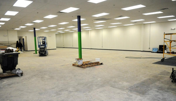 What will be the furniture showroom at Habitat for Humanity Lehigh Valley's new retail store, Habitat Lehigh Valley ReStore at 1053 Grape Street in Whitehall inside part of the former Circuit City. The store will offer customers used/new items for their homes at bargain prices and benefit Habitat for Humanity.