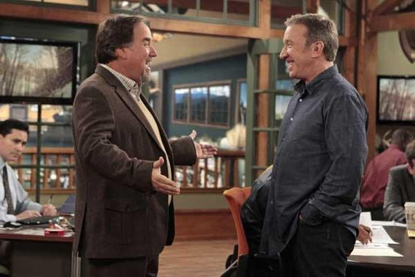 "It's a reunion of sorts on ""Last Man Standing,"" at 8 p.m. on ABC, as Richard Karn, left, guest stars in this new episode. With Tim Allen."