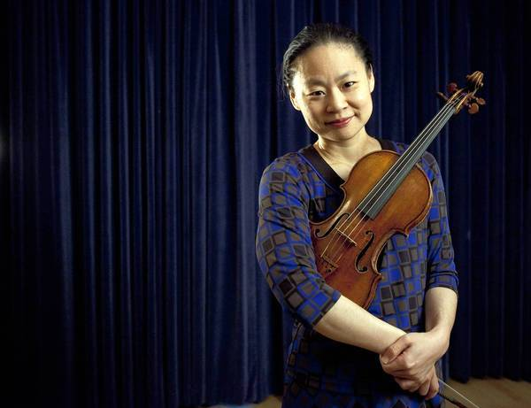 Midori is no stranger to the L.A. stage. On Friday, she'll debut a new concerto in a performance with the L.A. Phil at Disney Hall.