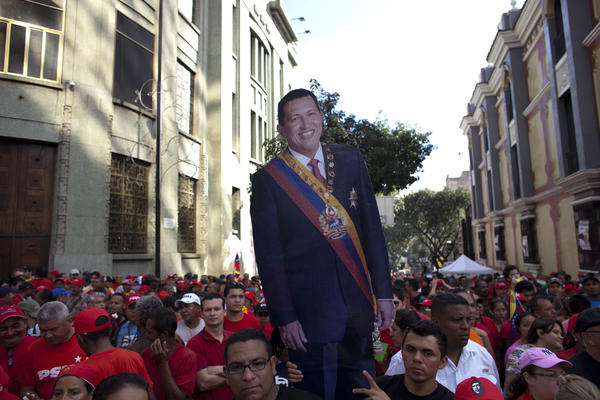 Chavez inauguration stand-in