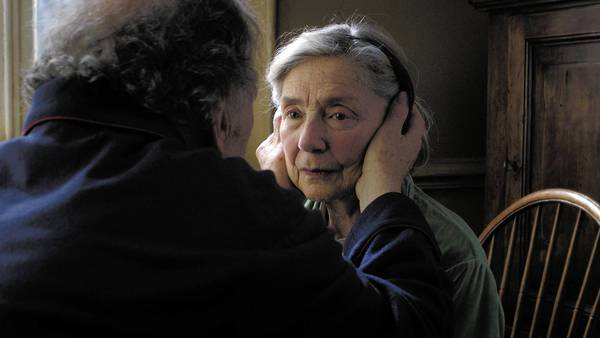 """Amour,"" starring Jean-Louis Trintignant, left, and Emmanuelle Riva, received five Oscar nominations, including for best picture and foreign-language film."