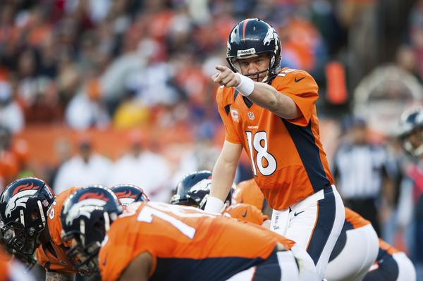Peyton Manning and the Broncos may have history on their side at home in the playoffs.