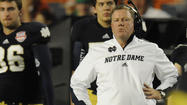 Memo to Notre Dame coach Brian Kelly: You lost.