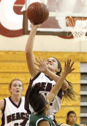 Jackie Cenana scored 21 points for Laguna Beach High in its win over Saddleback.