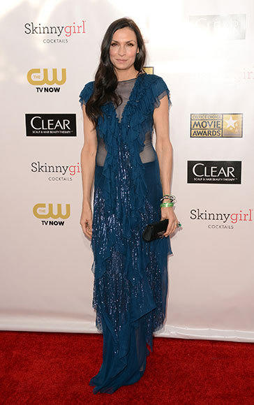 Critics' Choice Awards 2013: Red Carpet Arrivals: Famke Janssen