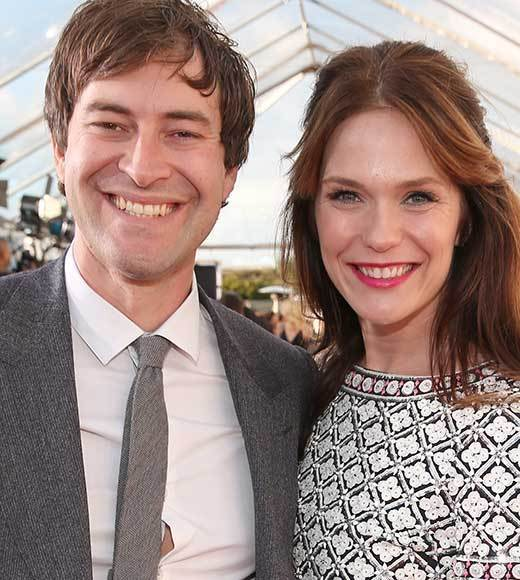 Critics' Choice Awards 2013: Red Carpet Arrivals: Mark Duplass; Katie Aselton