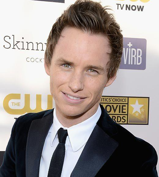 Critics' Choice Awards 2013: Red Carpet Arrivals: Eddie Redmayne