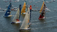 Volvo Ocean Race officials will visit Baltimore on Monday to evaluate a bid to host the only U.S. stop of the 2014-2015 edition of the round-the-world contest known as the Super Bowl of sailing.