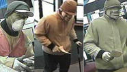 2 downtown banks robbed in hour