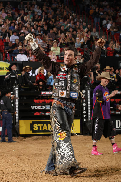 Professional bull rider Luke Snyder has suffered a litany of injuries in his 13-year career.