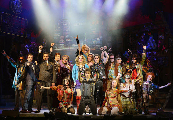 """Rock of Ages"" opened this month at the Venetian, the latest in a series of musicals brought to the Las Vegas stage."