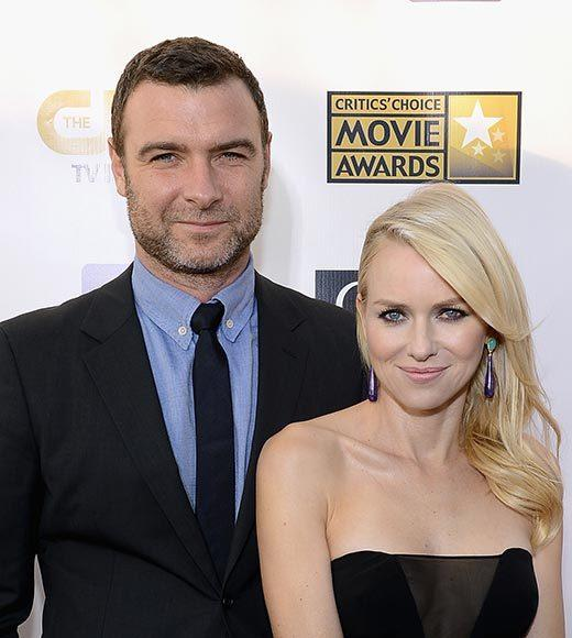 Critics' Choice Awards 2013: Red Carpet Arrivals: Liev Schreiber; Naomi Watts