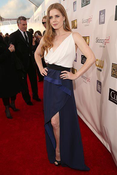 Critics' Choice Awards 2013: Red Carpet Arrivals: Amy Adams