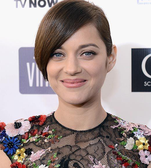 Critics' Choice Awards 2013: Red Carpet Arrivals: Marion Cotillard