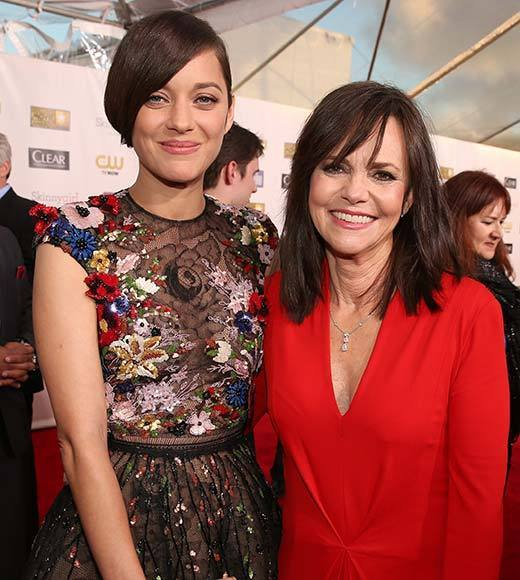 Critics' Choice Awards 2013: Red Carpet Arrivals: Marion Cotillard; Sally Field