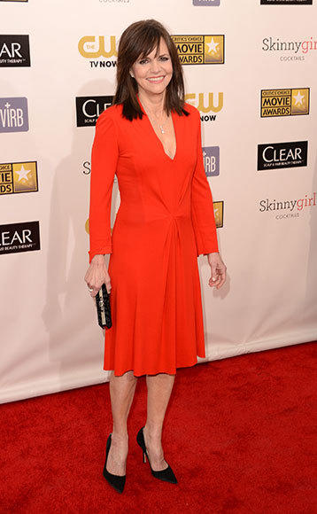 Critics' Choice Awards 2013: Red Carpet Arrivals: Sally Field