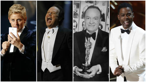 "Seth MacFarlane announced on Twitter that he will not be available to host the 2014 Oscars. Take a look back at some memorable MCs while you ponder <a href=""http://www.latimes.com.preview.tribdev.com/entertainment/movies/moviesnow/la-et-mn-seth-macfarlane-oscars-host-2014-20130520,0,3229874.story""> who will take his place</a>."