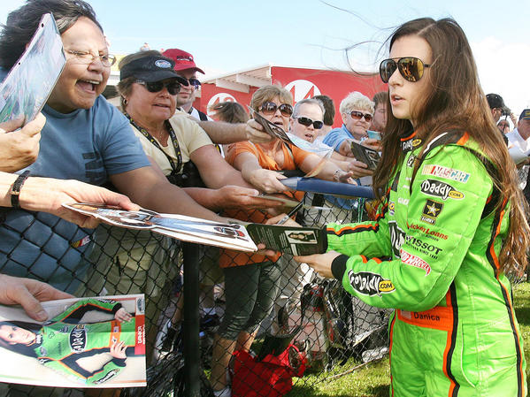 Danica Patrick got a lot of attention but no wins or top-five finishes as a full-time Nationwide Series driver last season.