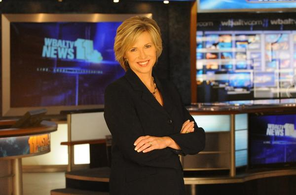 Marianne Banister from her days as lead co-anchor at WBAL.