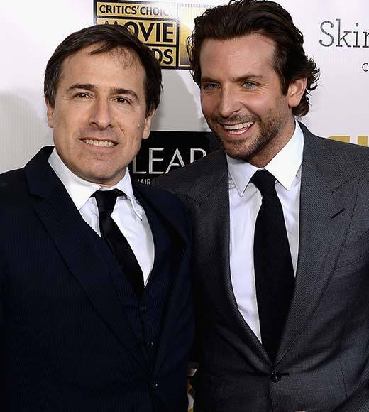Critics' Choice Awards 2013: Red Carpet Arrivals: David O. Russell; Bradley Cooper