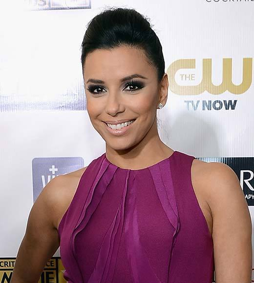 Critics' Choice Awards 2013: Red Carpet Arrivals: Eva Longoria