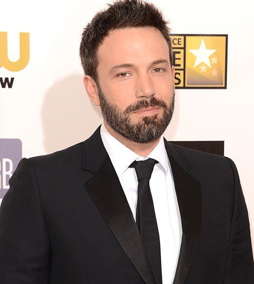Critics' Choice Awards 2013: Red Carpet Arrivals: Ben Affleck