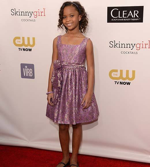 Critics' Choice Awards 2013: Red Carpet Arrivals: Quvenzhane Wallis