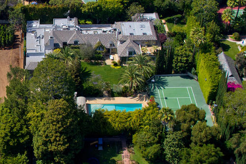 Madonna has listed her mansion in Beverly Hills at $22.5 million.