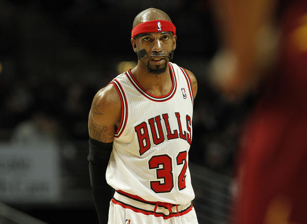 Bulls guard Richard Hamilton doesn't see himself playing more than a few more years at most.