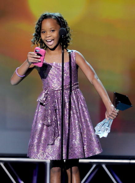Critics' Choice Awards 2013: The Best & Worst: Quvenzhane Wallis continues to be the cutest person alive, and she proved it during her acceptance speech for Best Young Actor/Actress at the Critics Choice Award 2013. Thanks to Mr Benh Zeitlin and the Court 13 family for thinking I could make a good Hushpuppy, she said while reading off her phone. Last to my family, friends, and fans. Good night.   --Terri Schwartz, Zap2it