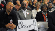 A proposed zoning rule that would reduce the number of liquor outlets in Baltimore is garnering increased support among community members who believe it will make neighborhoods healthier and safer.