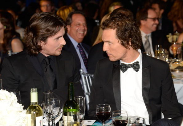Critics' Choice Awards 2013: The Best & Worst: Matt McConaughey sat next to Christian Bale at the party. Maybe Bale gave McConaughey some tips on how to act while starving.   --Carina Adly MacKenzie, Zap2it