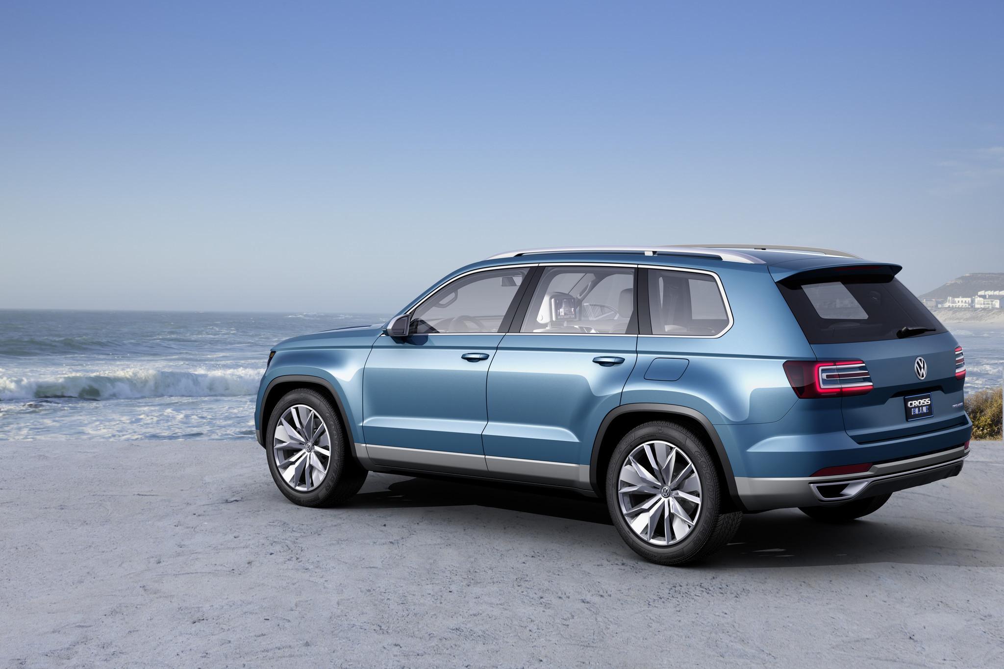 Volkswagen CrossBlue Concept SUV - Baltimore Sun