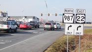 <strong><em>Q: Regarding the intersection at Airport and Catasauqua roads, there are some signage issues, but the most immediate problem results from the re-timing of the lights. I understand there was an accident and the lights were reset as a result. Now westbound Catasauqua right-turn traffic cannot turn onto Airport during the time that traffic exiting 22 east gets a green onto Catasauqua eastbound. This results in long lines on Catasauqua, and has been going on since late December. Is there a plan to re-time it?</em></strong>