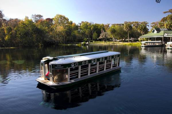 Silver Springs is renowned for its glass-bottom boats, but a state-park takeover could mean no more petting zoo, jeep safari or amusement rides.