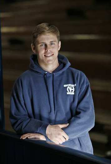 Newport Harbor High senior wrestler Mason Murphy is the Daily Pilot High School Athlete of the Week.