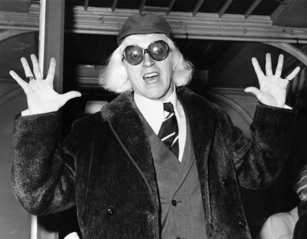 British children's show host and disc jockey Jimmy Savile