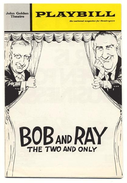 Classic duo Bob and Ray