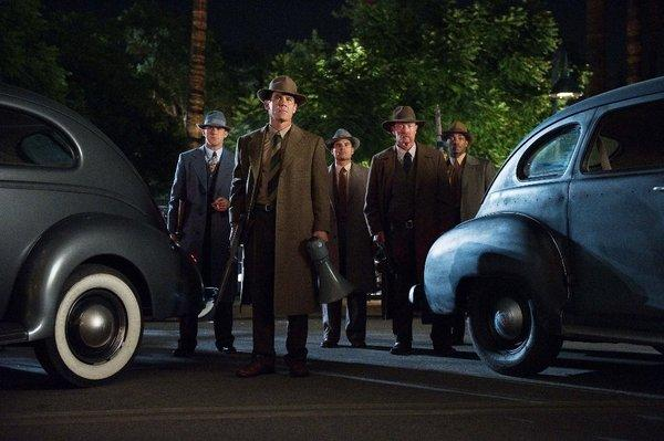 """Gangster Squad"" hopes to clean up at the box office."