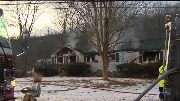 A fatal fire broke out at a home on Pine View Drive in North Branford Friday morning.