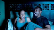 "Marlon Wayans wrings every last down-and-dirty giggle out of a single joke in ""A Haunted House,"" his return to ""Scary Movie"" territory, in truth if not by contract."