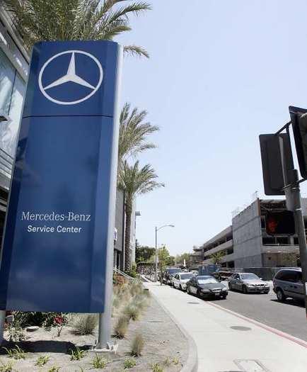 Glendale mercedes dealership makes case for larger than for Mercedes benz maple service