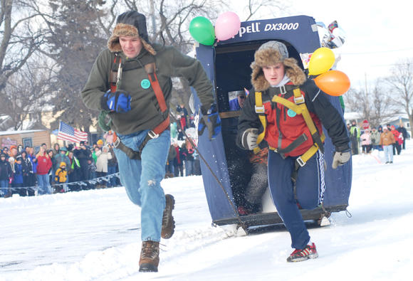The 2013 Mackinaw Pepsi International Outhouse Race takes place at 2 p.m. on Saturday, Jan. 19, at Shepler's parking lot across from Dixie Saloon.