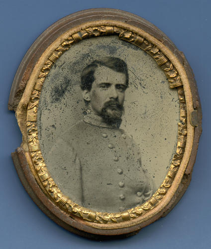 Brig. Gen. John Pegram of Petersburg was killed in battle 18 days after his marriage to Baltimore beauty Hetty Cary. The funeral took place in the Richmond church where the couple had been married.